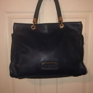 Marc by Marc Jacobs Navy Too Hot To Handle Tote